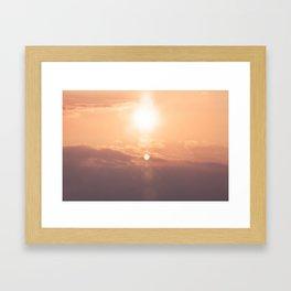 Flickering Framed Art Print