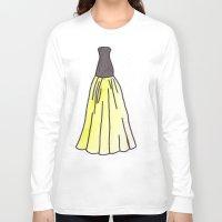 hufflepuff Long Sleeve T-shirts featuring Hufflepuff Dress by AlwaysRiverose