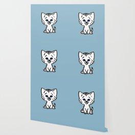 Chalkies cat color 5 Wallpaper