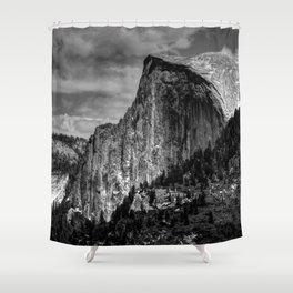 Half Dome Chrome Shower Curtain