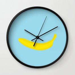 Banana print Wall Clock