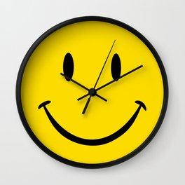 Smiley Happy Face Wall Clock