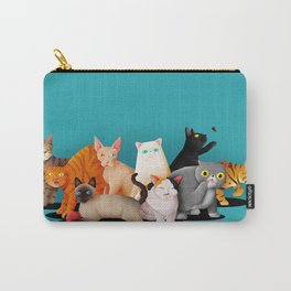 Gatos / Cats Carry-All Pouch