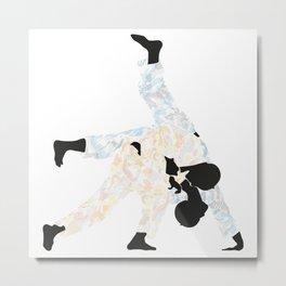 Delicate Judoka 03 Metal Print