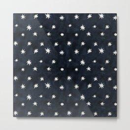 Midnight Starlet Metal Print
