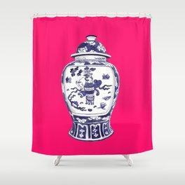 GINGER JAR PILLOW Shower Curtain