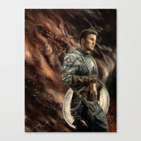captain Canvas Prints featuring Captain by Linarts