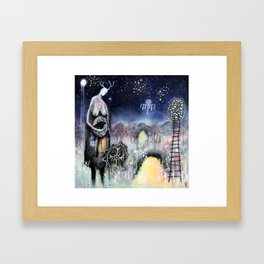 Haligarth - A Sacred Place Framed Art Print