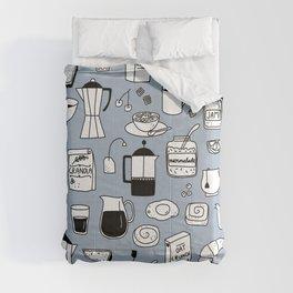 Breakfast Things Comforters