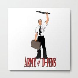Army of D-FENS Metal Print