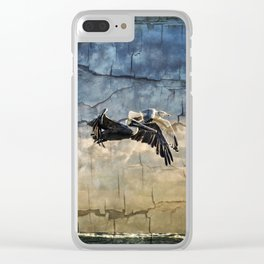 A Race To Heaven Clear iPhone Case