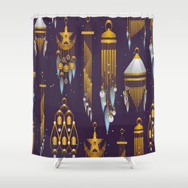 Treasures of India Shower Curtain