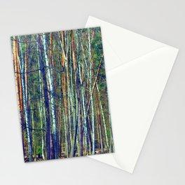 birch forest Stationery Cards