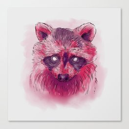 Raccoon I Canvas Print