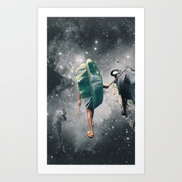 journey home Art Print
