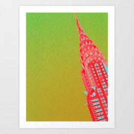 Chrysler NYC II Art Print