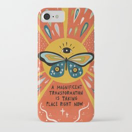 A magnificent transformation iPhone Case