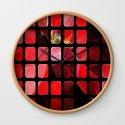 Mottled Red Poinsettia 2 Art Rectangles 1 by christopherjohnsonart