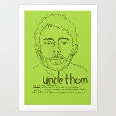 Uncle Thom Art Print