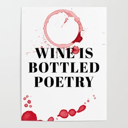 wine bar no. 3 Poster