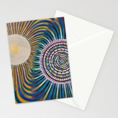 The move over the waters Stationery Cards