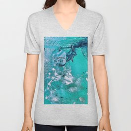 Dreaming Of The Sea Unisex V-Neck