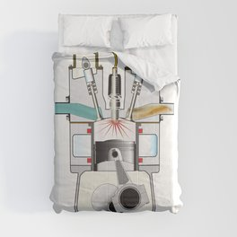Ignition Stroke Comforters