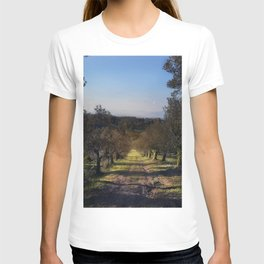 the way among the olive trees T-shirt