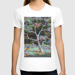 The tree and all the animals T-shirt