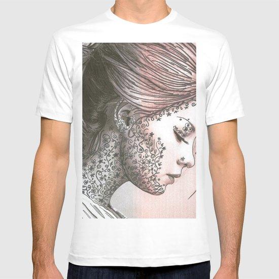 Flower Face  T-shirt