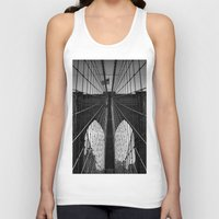 brooklyn bridge Tank Tops featuring Brooklyn Bridge by Photos by Vincent