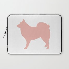Icelandic sheepdog wall art print nursery Laptop Sleeve