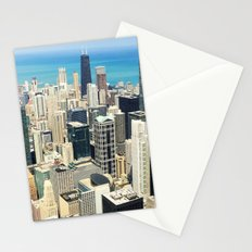 Chicago Buildings Color Photo Stationery Cards