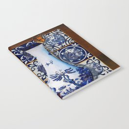 Blue Willow Stillife Notebook