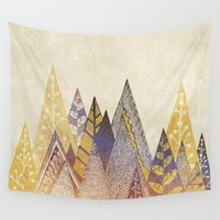 suits Wall Tapestries featuring Highpoint by rskinner1122
