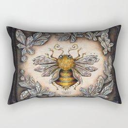 Crystal bumblebee Rectangular Pillow