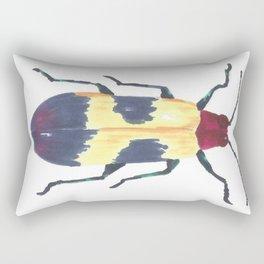 Beetle 3 Rectangular Pillow