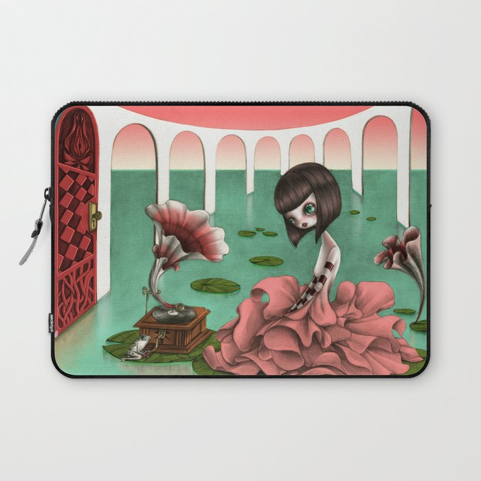 Song from the Flower Laptop Sleeve