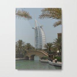 Dubai Metal Print