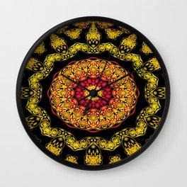 3D Persian Rug Wall Clock