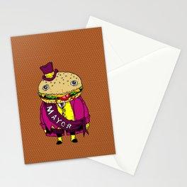the mayor Stationery Cards