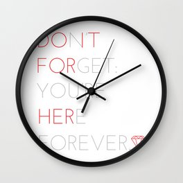 """""""Do it for her"""" - Homer Simpson Wall Clock"""