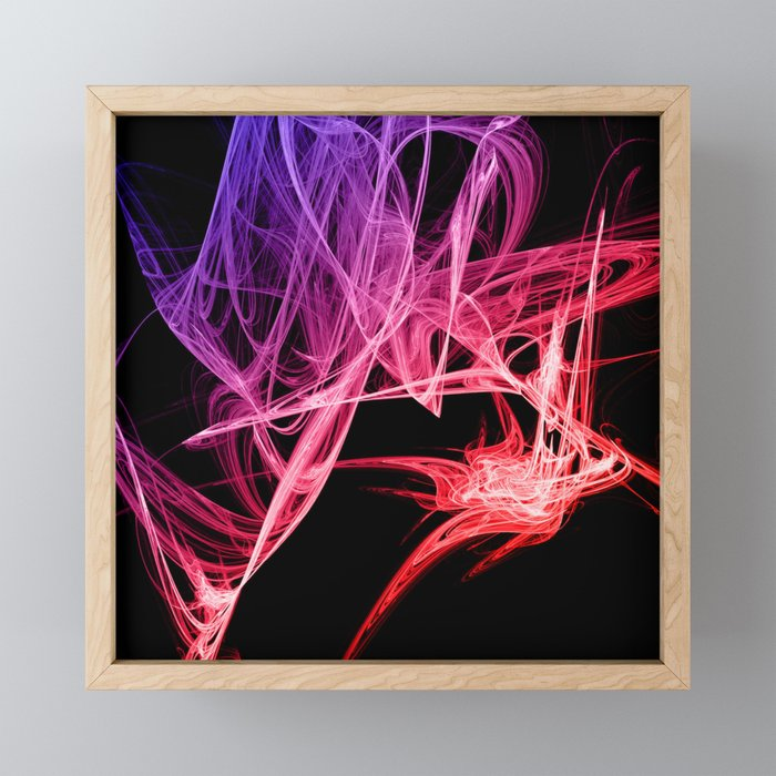 The Unraveling of......Me Framed Mini Art Print