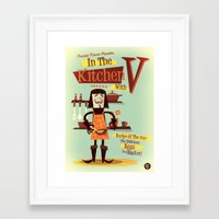 vendetta Framed Art Prints featuring Vendetta by Diego Riselli