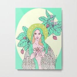 Mary, The Saint Metal Print