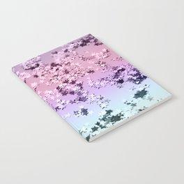 Unicorn Girls Glitter Stars #1 #shiny #pastel #decor #art #society6 Notebook