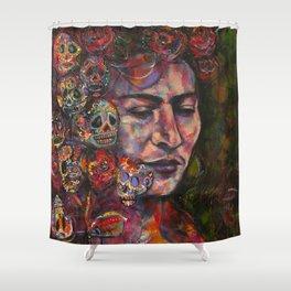 Lady Death Shower Curtain