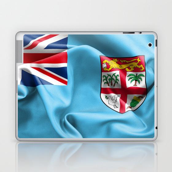 Fiji Flag Laptop Ipad Skin By Markuk97