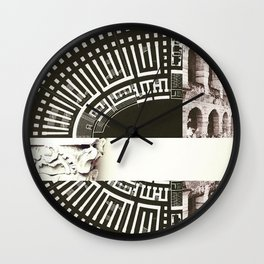 Architecture of Impossible_Ancient Rome Wall Clock