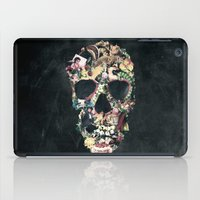 ali iPad Cases featuring Vintage Skull by Ali GULEC
